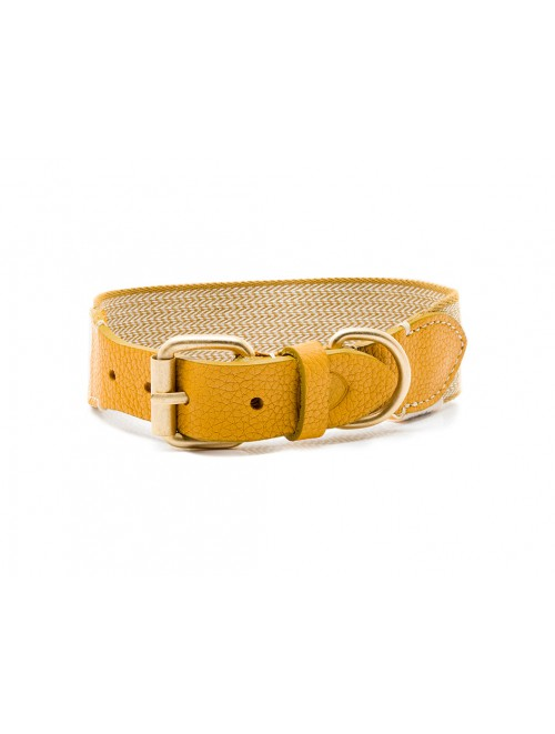 Collar James yellow