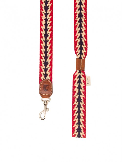 Peruvian Arrow red dog lead