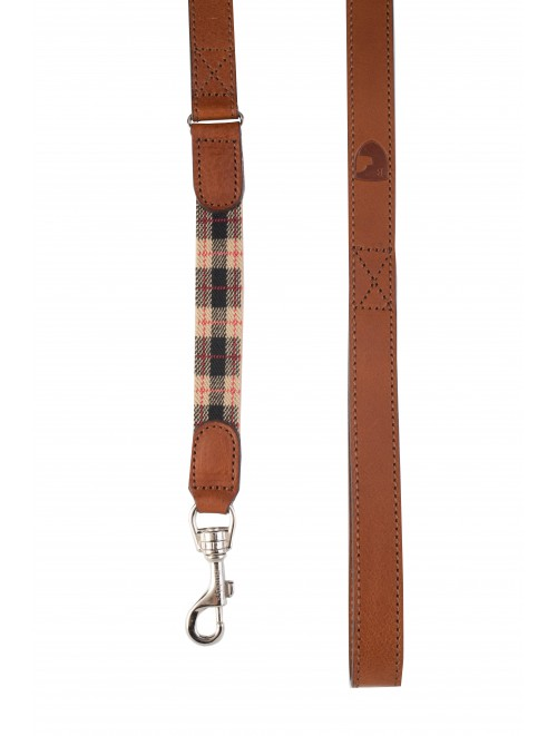 Edimburgh beige dog lead