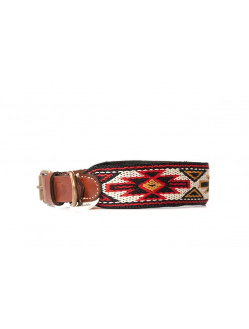 Collar Peyote Rojo