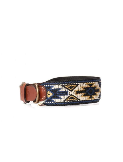 Collar Peyote Azul